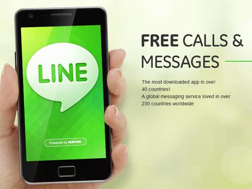 Line Whatsapp Alternative Messaging Android App