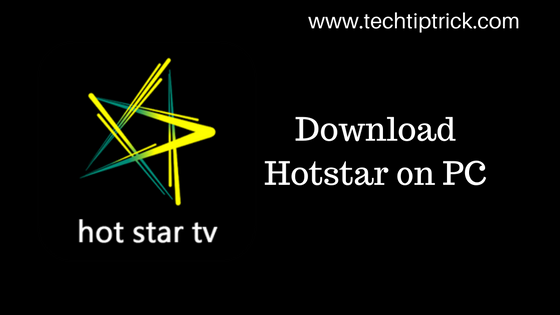 Download Hotstar on PC