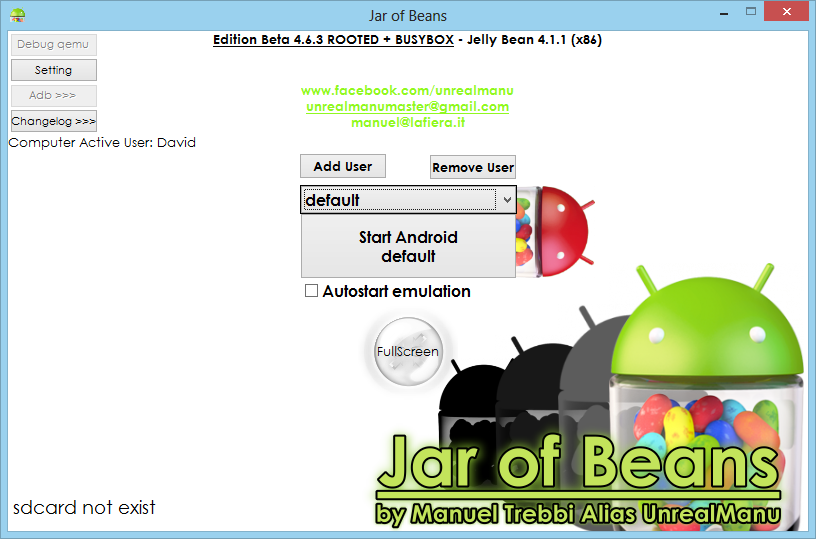 Jar Of Beans Android Emulator for PC