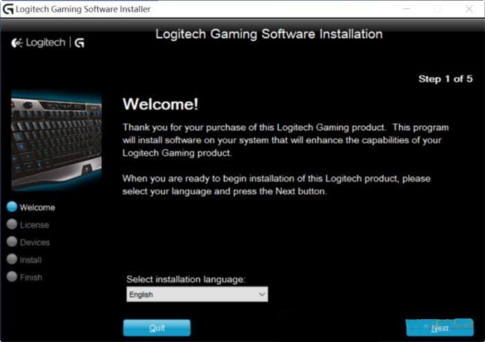 Logitech gaming software Download