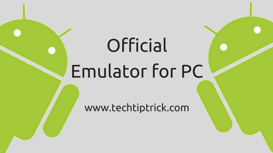 Official Emulator for PC