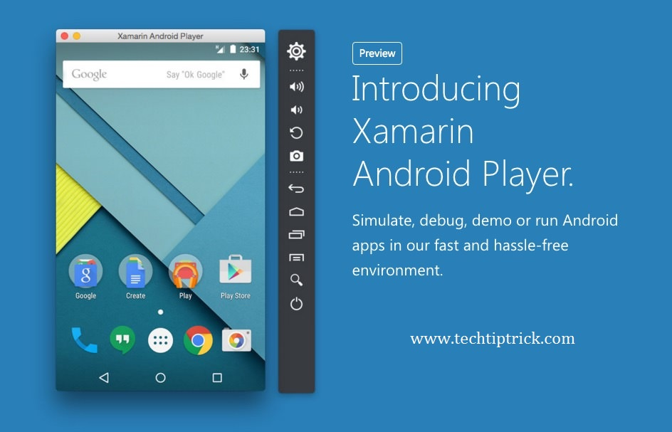 Xamarin Android Emulator for PC