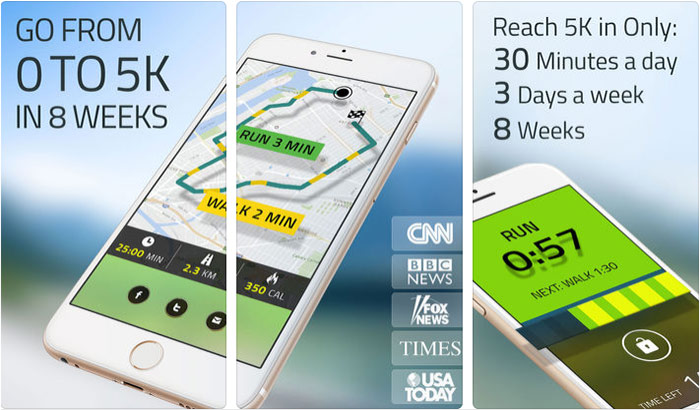 5K Runner best iphone running app