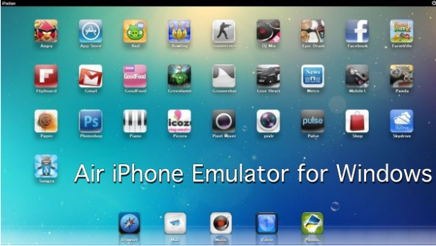 Air iPhone Emulator for Windows
