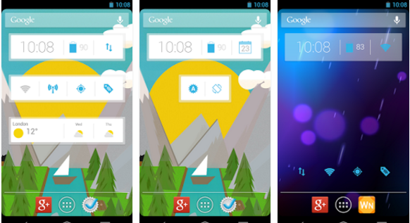 Clock Now Clock Widget for Android