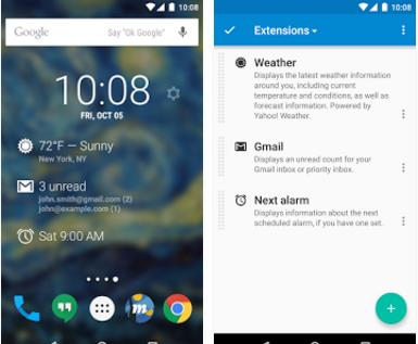 DashClock Widget for Android