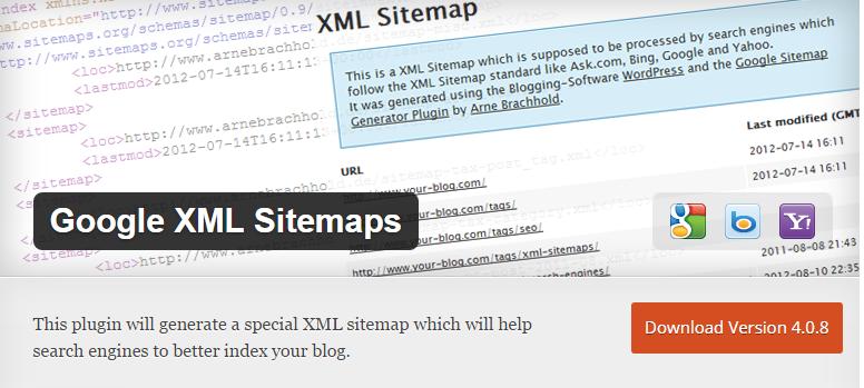Google XML Sitemaps WordPress Plugin 2017
