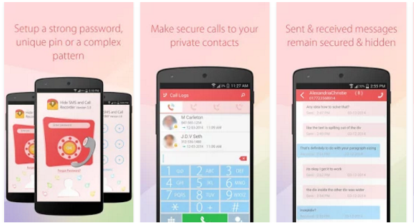 Hide SMS and Call Recorder for Android Phone