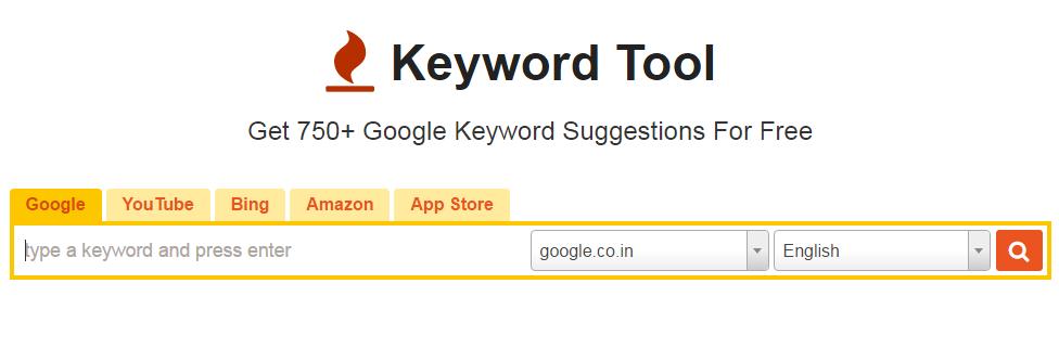 Keyword Tool for SEO 2017