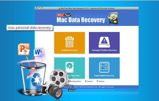 MiniTool Mac Data Recovery Software