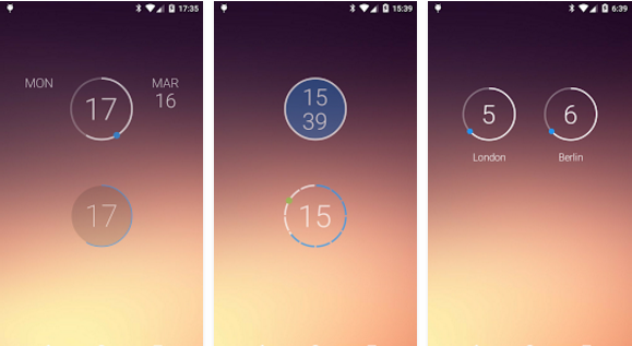 Onca Clock Widget for Android