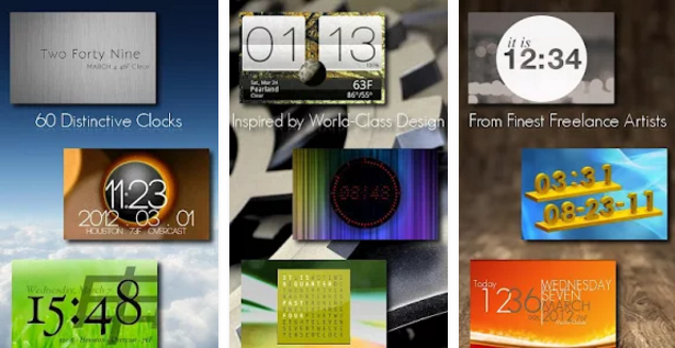 One More Clock Widget Free for Android