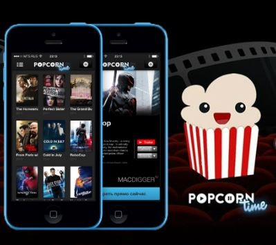 Popcorn time Free movie app for Android and iPhone