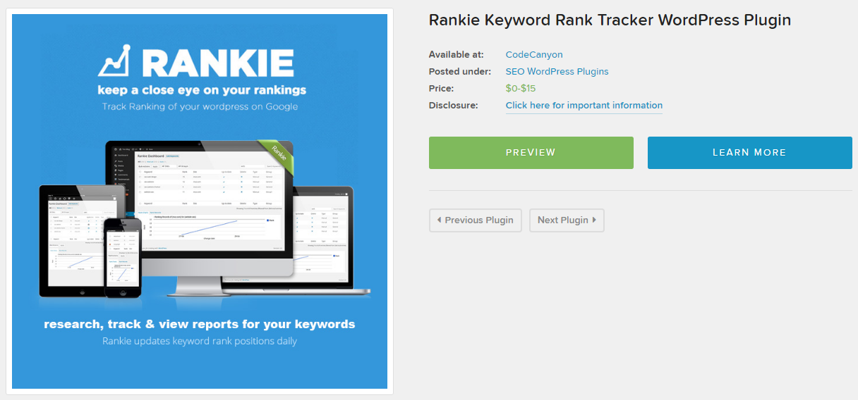 Rankie WordPress SEO Plugin