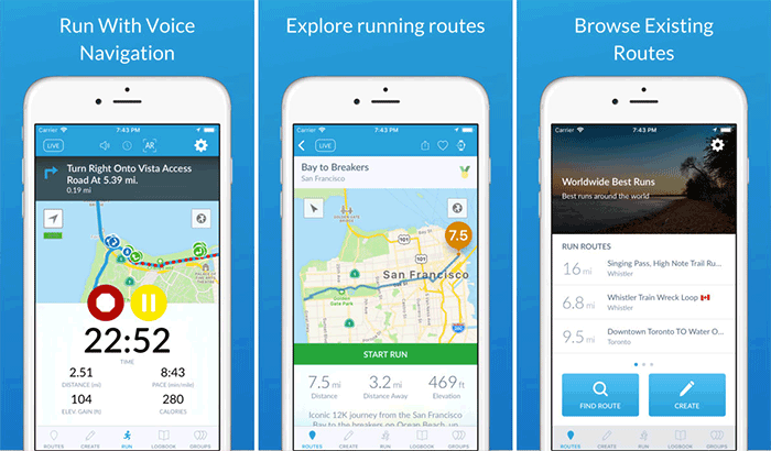 RunGo Running Apps for iPhone and Apple Watch