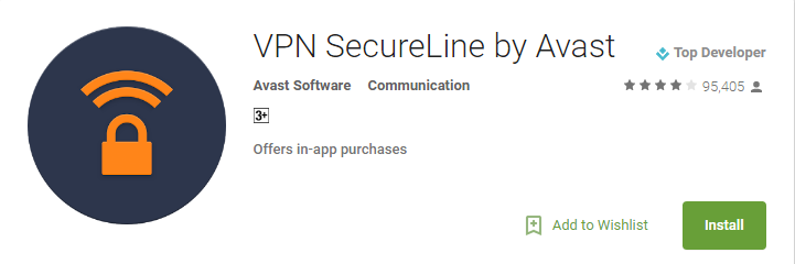 SecureLine VPN Apps for Android 2017