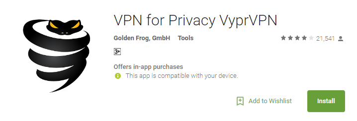 VyprVPN Apps for Android 2017