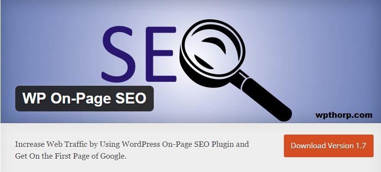 WP On-Page SEO WordPress Plugin