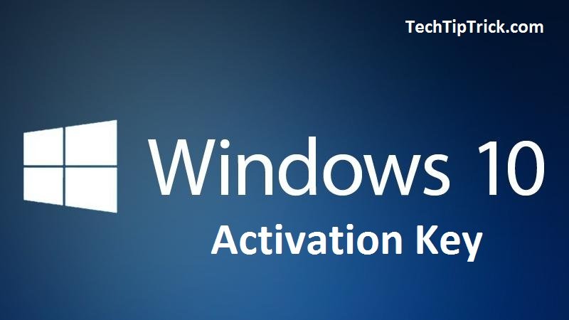 Windows 10 Activation Key Free Download 2017