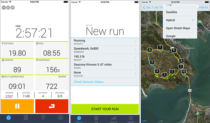 iSmoothRun Pro best iphone running app