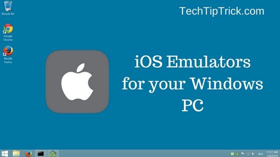 free ios emulator for mac