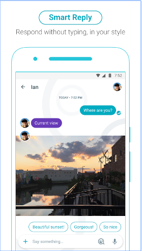 Allo Google Messenger Smart Reply