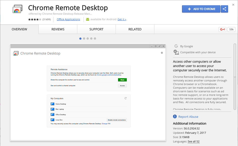 Crome Remote Desktop to Use iMessage on PC