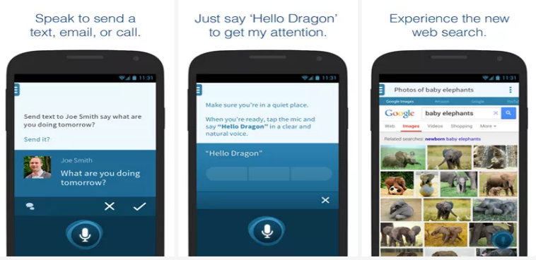 Dragon Mobile Assistant Android App