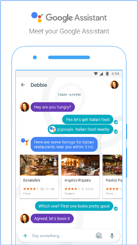 Google Assistant on Google Allo