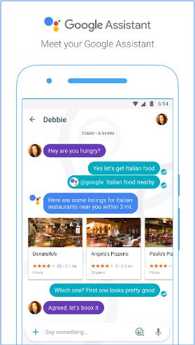 Google Assistant on Google Allo