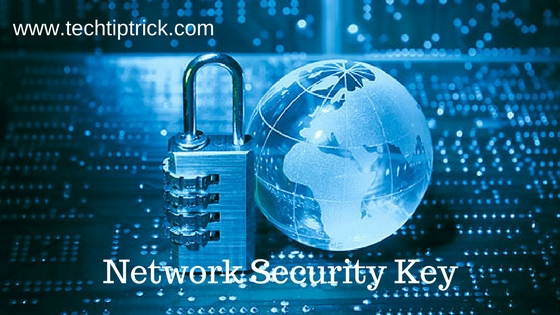How to Find Your Network Security Key