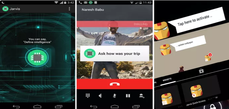 Jarvis My Personal Assitant App for Android
