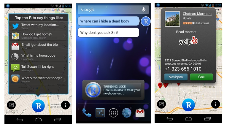 Robin – the Siri Challenger Android Assitant