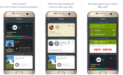 SHERPA BETA Personal Assistant App for Android Like Siri