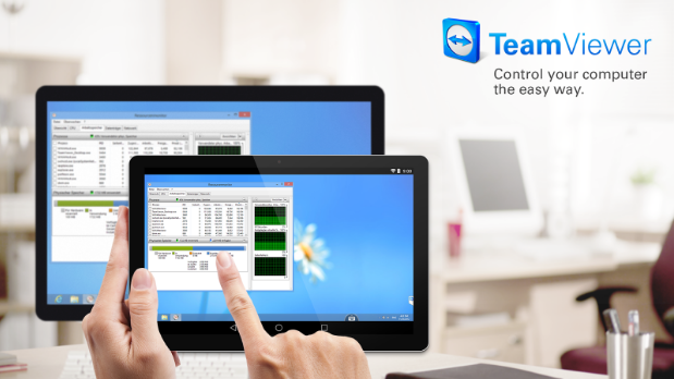 TeamViewer for Remotely Control Android Phone From Another Phone