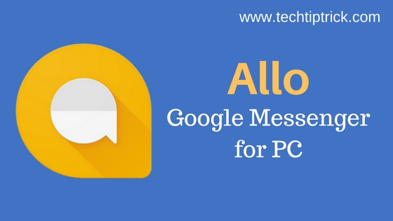 Google messenger for PC