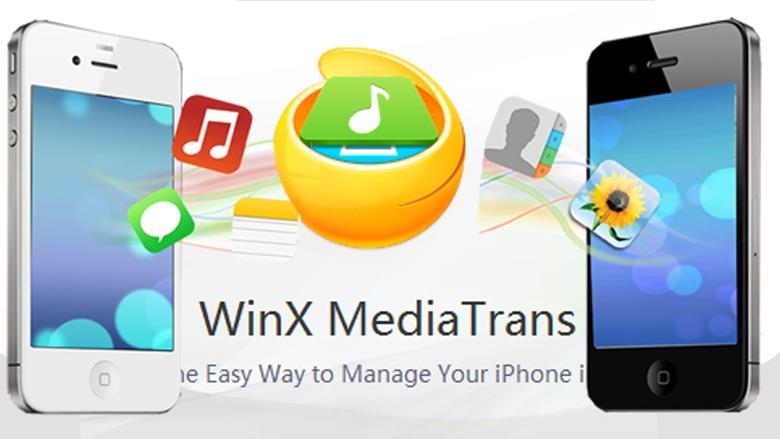 WinX MediaTrans Giveaway – 1st iPhone Transfer Supports iTunes Movie Export