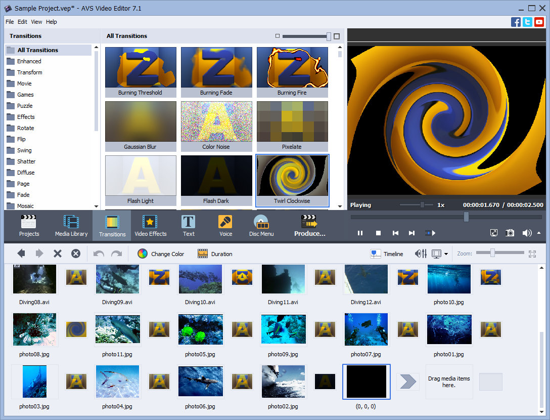AVS Video Editor Software 2017