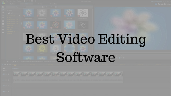Best Video Editing Software 2017