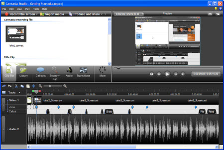 Camtasia Studio - Best game recording software