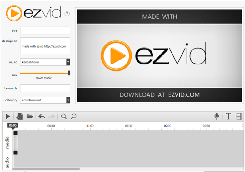 Ezvid video game recordering software
