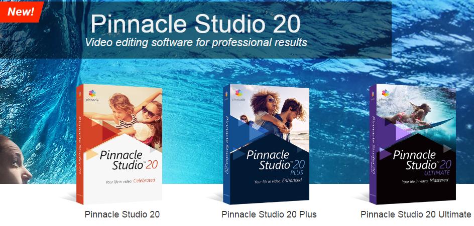 Pinnacle Studio Video Editing Software 2017