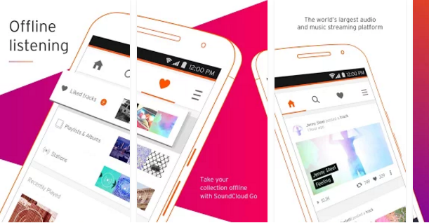 SoundCloud Free mp3 music download app for android
