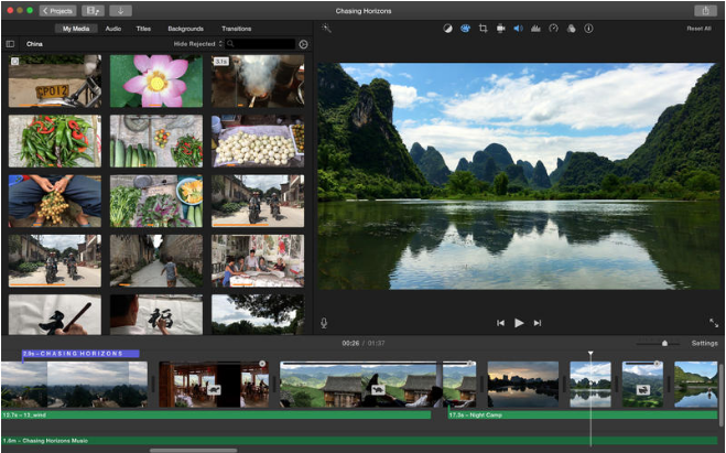 iMovie Video Editing Software 2017