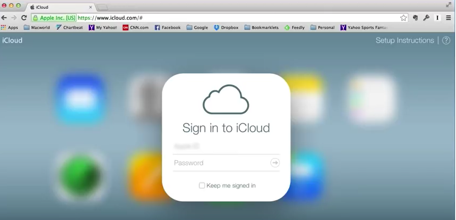 icloud login for two step verification