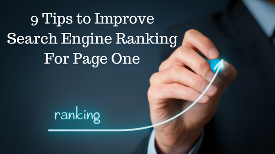 Improve Search Engine Ranking For Page One
