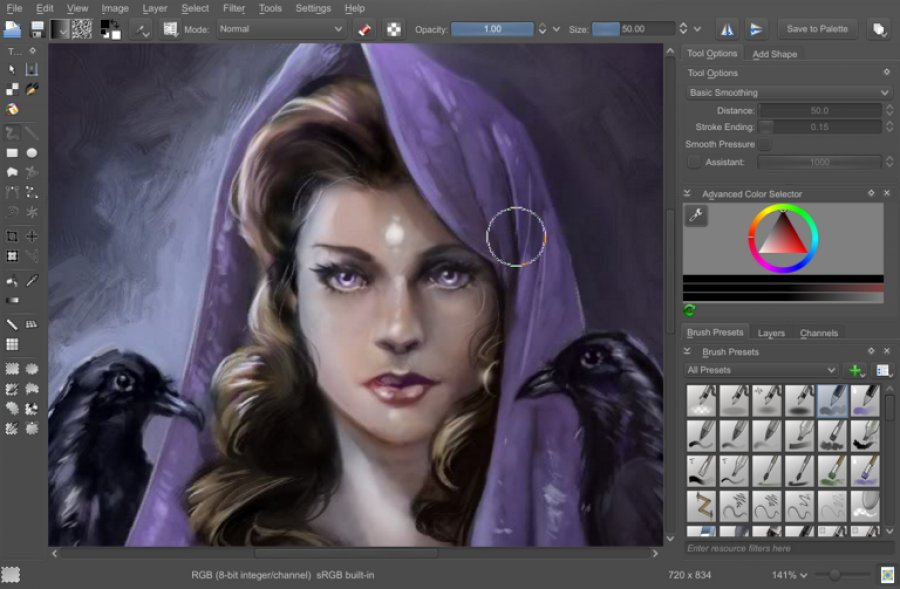 Krita Best Free Photoshop Alternatives