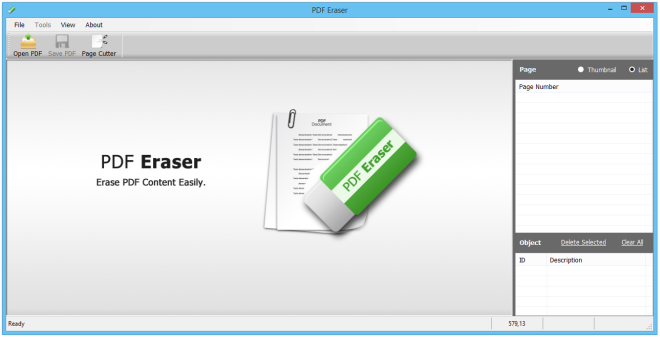 PDF Eraser free pdf editor windows 10