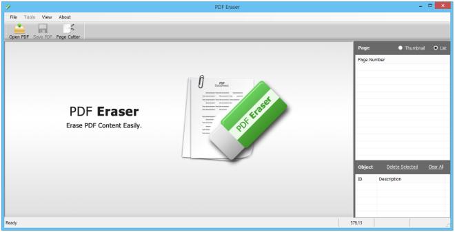 PDF Eraser - Free PDF Editor Windows 10