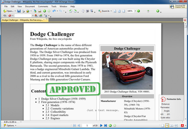 PDF-XChange Viewer pdf editor for free